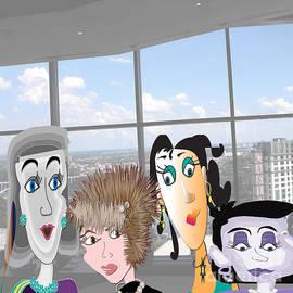 Iris Gelbart - Luncheon with the girls