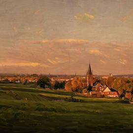 Nop Briex - Maastricht seen from Sint Pieter