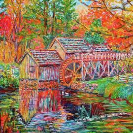 Kendall Kessler - Mabry Mill in Fall