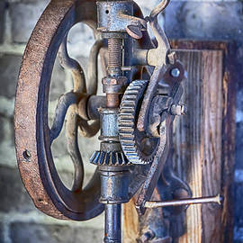 David Millenheft - Machine Shop- Drill Press Hand Driven