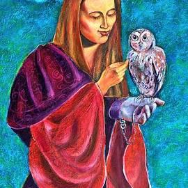 Ion vincent DAnu - Madona With Owl