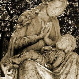 David T Wilkinson - Madonna and Child Sepia