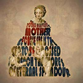 Georgeta Blanaru - Madonna Typography Artwork