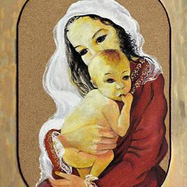 Vanda Caminiti - Madonna with baby