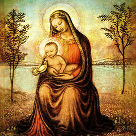 Ananda Vdovic - Madonna with the Dove