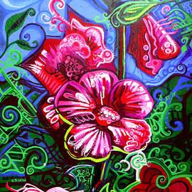 Genevieve Esson - Magenta Fleur Symphonic Zoo I