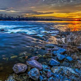 Julis Simo - Magic Sunset over Narew River