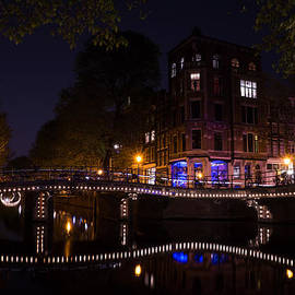 Georgia Mizuleva - Magical Sparkling Amsterdam Canals and Bridges at Night