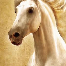 Georgiana Romanovna - Magnificent Presence Horse Painting