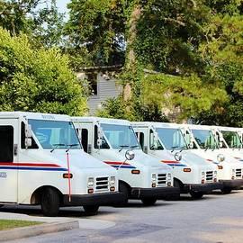 Cynthia Guinn - Mail Trucks