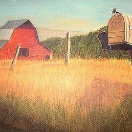 Jay Johnston - Mailbox and Barn