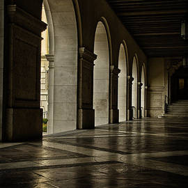 Joan Carroll - Main Building Arches University of Texas