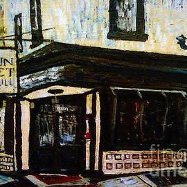 Kevin J Cooper Artwork - Main St Bar and Grille Manayunk Philadelphia