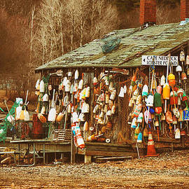 Jeff Folger - Maine lobster buoys