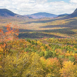 Keith Webber Jr - Maine Mountains In Fall Mount Blue State Park