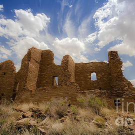 Jerry Cowart - Majestic Blue Sky Over Ancient Pueblo Pintado On Navajo Indian Reservation New Mexico