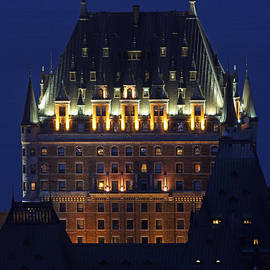 Juergen Roth - Majesty of Chateau Frontenac in Quebec City