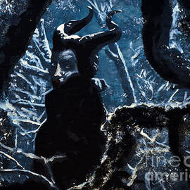 Maleficent In Winter