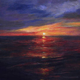 Anees Peterman - Malibu Sunset