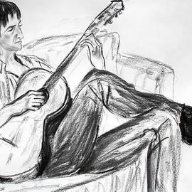 Asha Carolyn Young - Man and Guitar