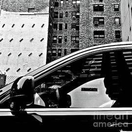 Miriam Danar - Man in Car - Scenes from a Big City