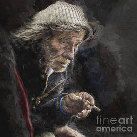Avalon Fine Art Photography - Man with cigarette