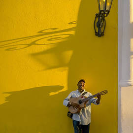 David Litschel - Man with Guitar Havana Cuba
