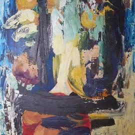 Esther Newman-Cohen - Mandarin Floral Abstract