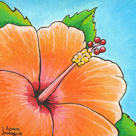 Adam Johnson - Mango Madness Hibiscus