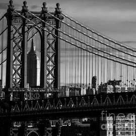 James Aiken - Manhattan Bridge and Empire State Building