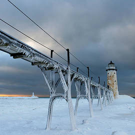 Allan Lovell - Manistee Lighthouse 6