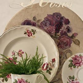 Sandra Foster - Many Rose Designs Still Life