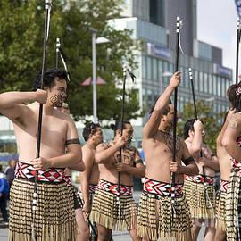 Martin Berry - Maori Perform