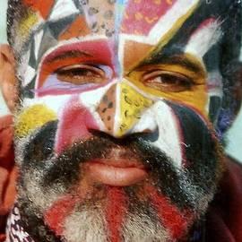 Michael Hoard - Mardi Gras Day Portrait in New Orleans Louisiana
