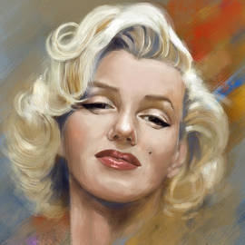 Arie Van der Wijst - Marilyn Monroe