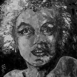 Joyce Sherwin - Marilyn Monroe b and w