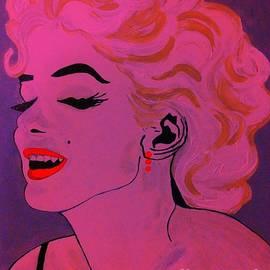 Saundra Myles - Marilyn Monroe Pop Art