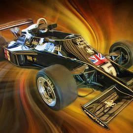 Blake Richards - Mario Andretti John Player Special Lotus