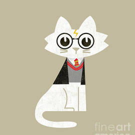 Budi Satria Kwan - Mark the wizard cat