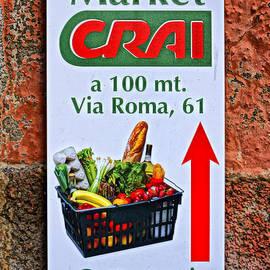 Greg Kluempers - Market Crai Sign Monterosso DSC02589