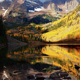 Jim Garrison - Maroon Bells Autumn