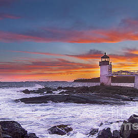 John Vose - Marshall Point Lighthouse Sunset