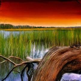 Bruce Nutting - Marshland Sunset