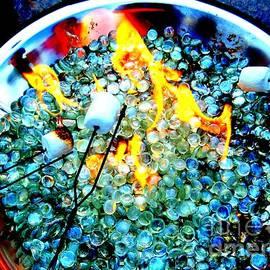 Ed Weidman - Marshmallow Fire Abstract