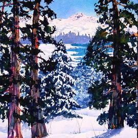 Eva Nichols - Martis Valley View In Winter
