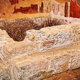 Sandra Pena de Ortiz - Masada Bathing Quarters Built By King Herod The Great