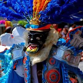 Bill Jonscher - Masked South American dancer