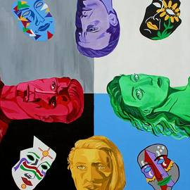 Mike Nahorniak - Masks 2