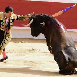 Clarence Alford - Matador Touching Bull