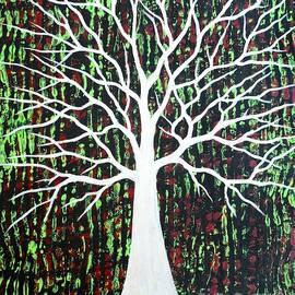 JoNeL Art  - Matrixing Tree Chartreuse